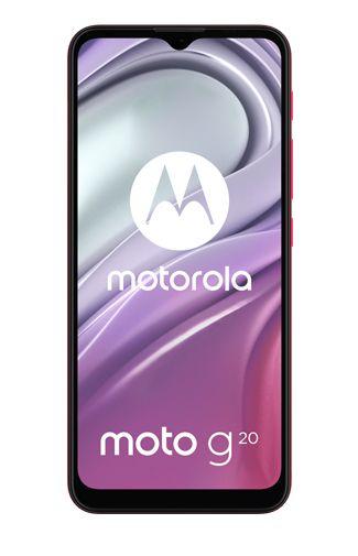 Productafbeelding van de Motorola Moto G20 Roze