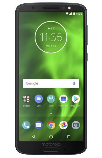 Productafbeelding van de Motorola Moto G6 Single Sim Blue
