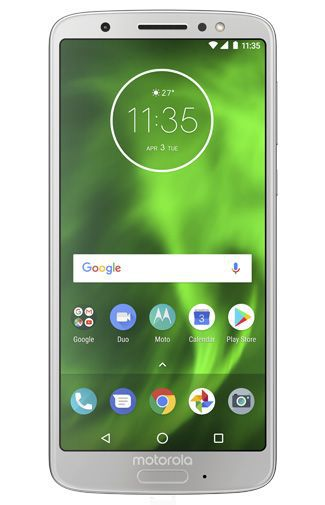 Productafbeelding van de Motorola Moto G6 Dual Sim Silver