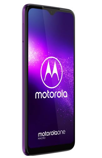 Productafbeelding van de Motorola One Macro Purple