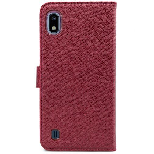 Productafbeelding van de My Style Flex Wallet Case Bordeaux Samsung Galaxy A10