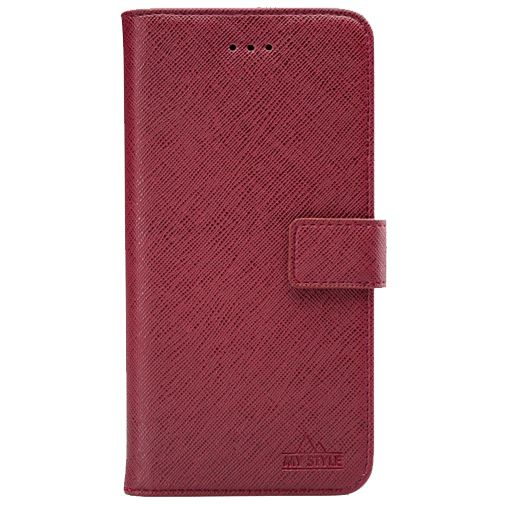 Productafbeelding van de My Style Flex Wallet Case Bordeaux Samsung Galaxy A21s