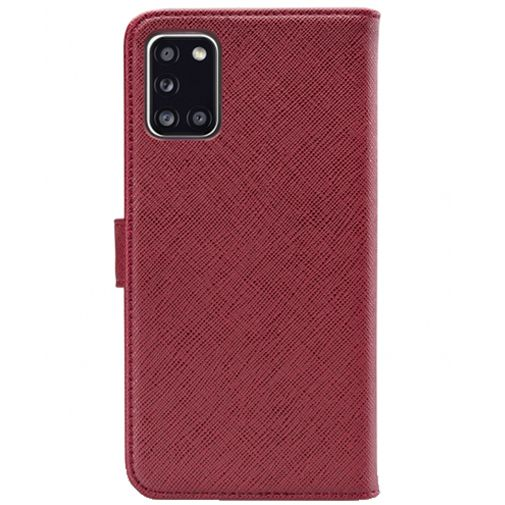 Productafbeelding van de My Style Flex Wallet Case Bordeaux Samsung Galaxy A31