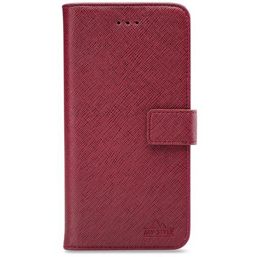 Productafbeelding van de My Style Flex Wallet Case Bordeaux Samsung Galaxy A71