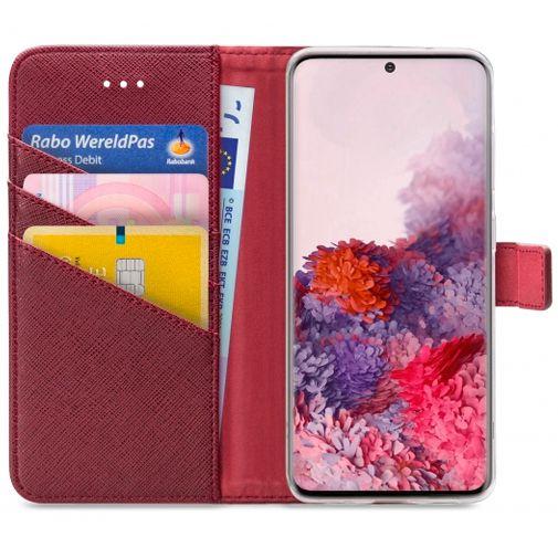 Produktimage des My Style Flex Wallet Case Bordeaux Samsung Galaxy S20