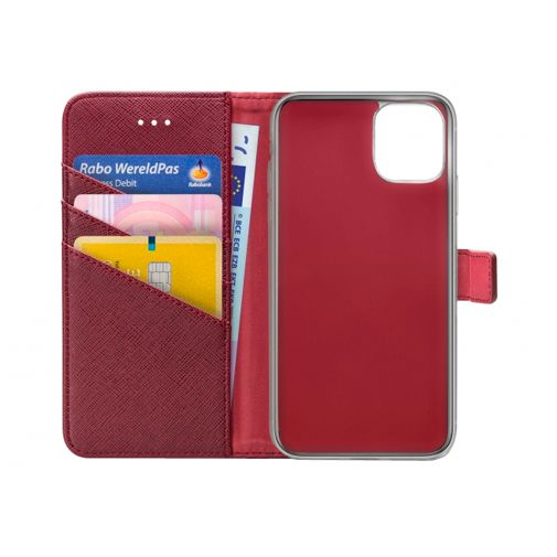 Productafbeelding van de My Style PU-Leer Book Case Apple iPhone 12 / 12 Pro Rood