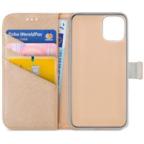 Productafbeelding van de My Style PU-leer Book Case Apple iPhone 12 Pro Max Goud