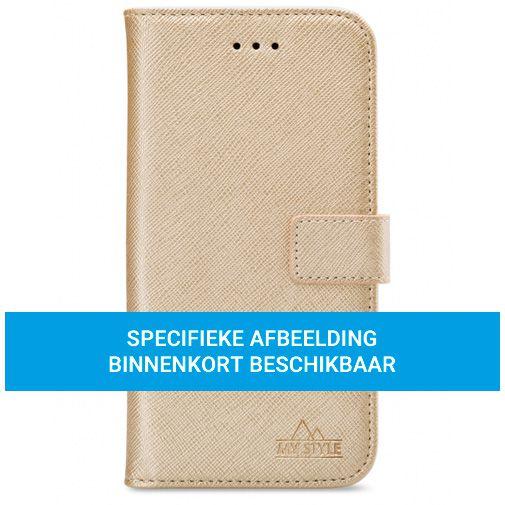 Productafbeelding van de My Style PU-leer Book Case Goud Samsung Galaxy A72