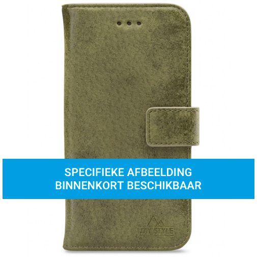 Productafbeelding van de My Style PU-leer Book Case Groen Samsung Galaxy A72