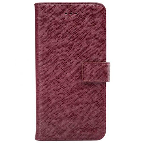 Productafbeelding van de My Style PU-leer Book Case Rood Samsung Galaxy A42 5G