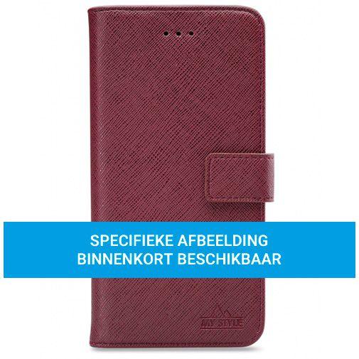Productafbeelding van de My Style PU-leer Book Case Rood Samsung Galaxy A72