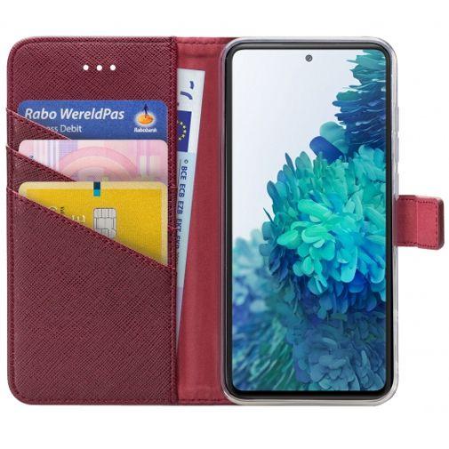 Productafbeelding van de My Style PU-leer Book Case Rood Samsung Galaxy S20 FE