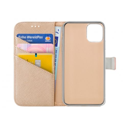 Productafbeelding van de My Style PU-Leer Book Case Apple iPhone 12 Mini Goud