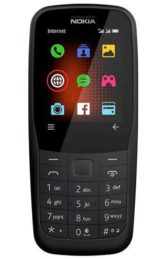 Produktimage des Nokia 220 4G Schwarz
