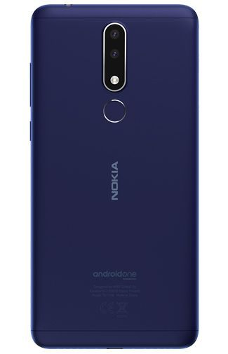 Productafbeelding van de Nokia 3.1 Plus 16GB Blue