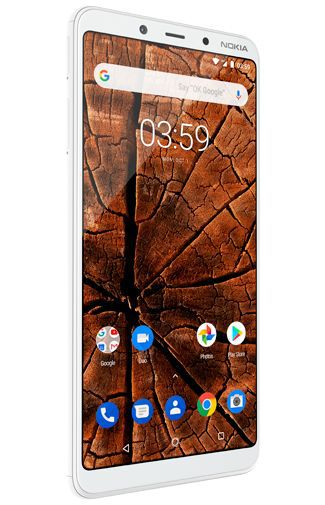 Productafbeelding van de Nokia 3.1 Plus 32GB White