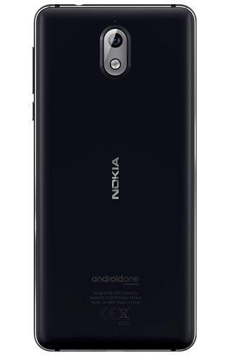 Productafbeelding van de Nokia 3.1 16GB Black