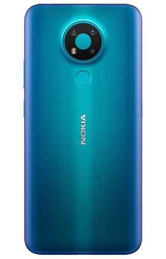 Product image of the Nokia 3.4 64GB Blue