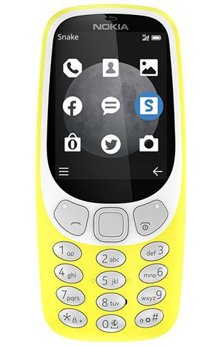 Productafbeelding van de Nokia 3310 3G Yellow