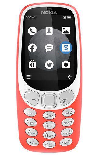 Productafbeelding van de Nokia 3310 3G Red