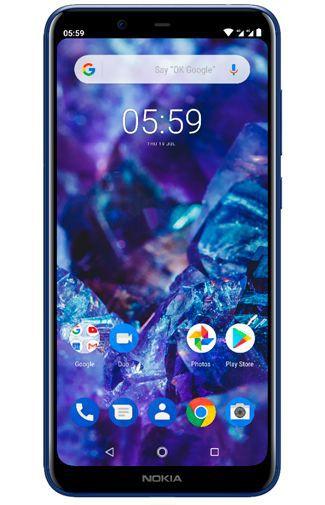 Productafbeelding van de Nokia 5.1 Plus 32GB Blue