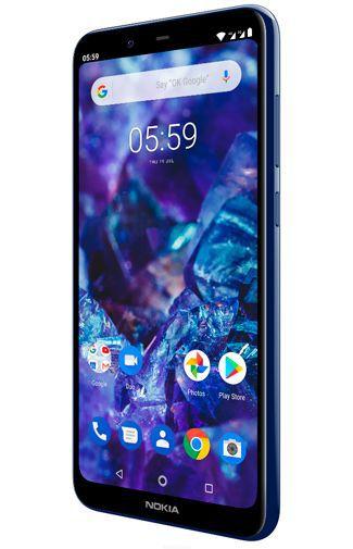 Produktimage des Nokia 5.1 Plus 32GB Blau