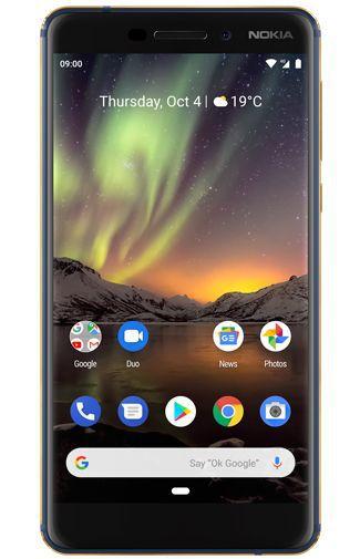 Productafbeelding van de Nokia 6.1 Dual Sim 32GB Blue