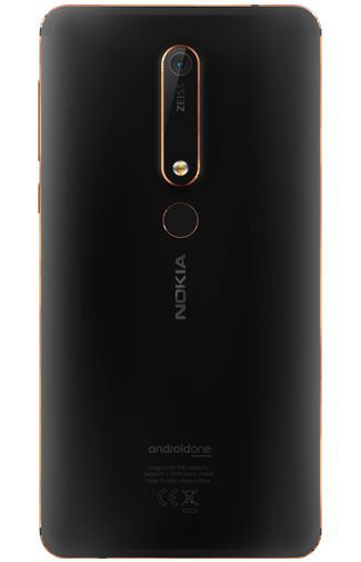 Productafbeelding van de Nokia 6.1 Single Sim 32GB Black