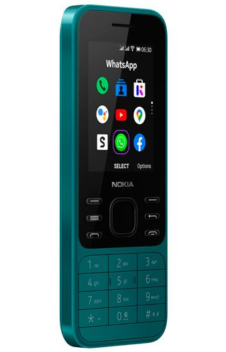 Product image of the Nokia 6300 4G Green