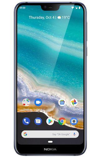 Product image of the Nokia 7.1 Dual Sim 64GB Blue