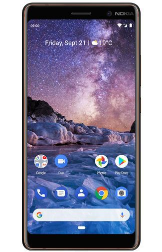 Productafbeelding van de Nokia 7 Plus Single Sim Black