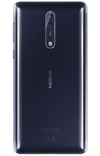 Productafbeelding van de Nokia 8 128GB Polished Blue