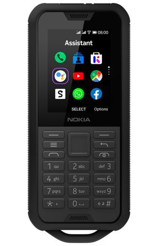 Nokia 800 Tough Schwarz
