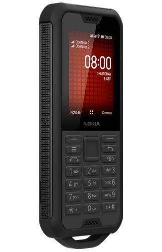 Productafbeelding van de Nokia 800 Tough Black