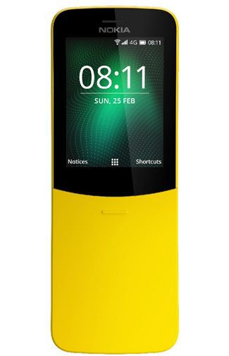 Productafbeelding van de Nokia 8110 4G Yellow