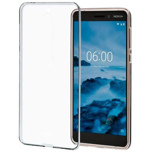 Produktimage des Nokia Back Case Transparent Nokia 6.1