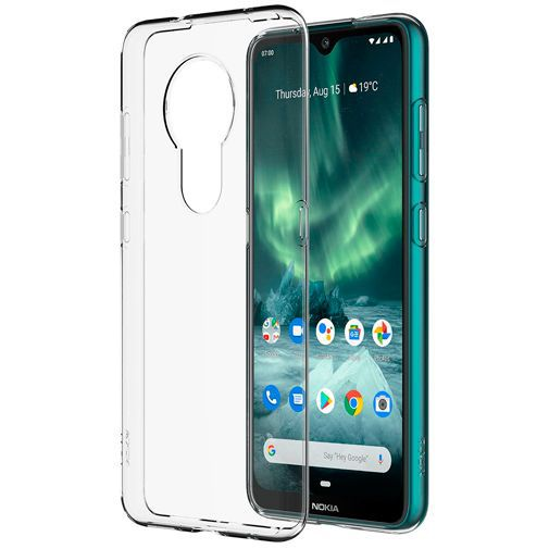 Productafbeelding van de Nokia Back Case Transparent Nokia 6.2/7.2