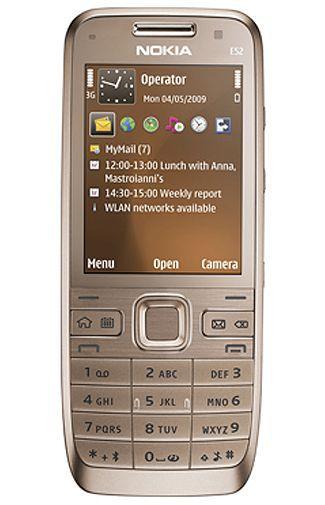 Productafbeelding van de Nokia E52 Golden Aluminium