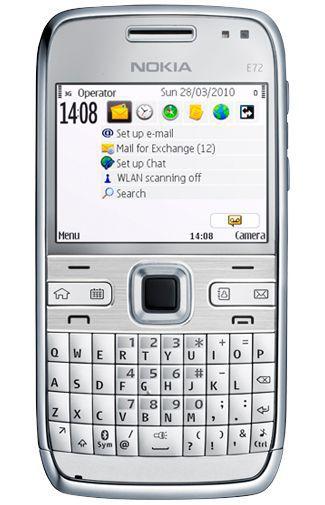 Productafbeelding van de Nokia E72 White