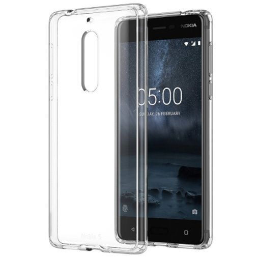 Productafbeelding van de Nokia Hybrid Case Transparent Nokia 5