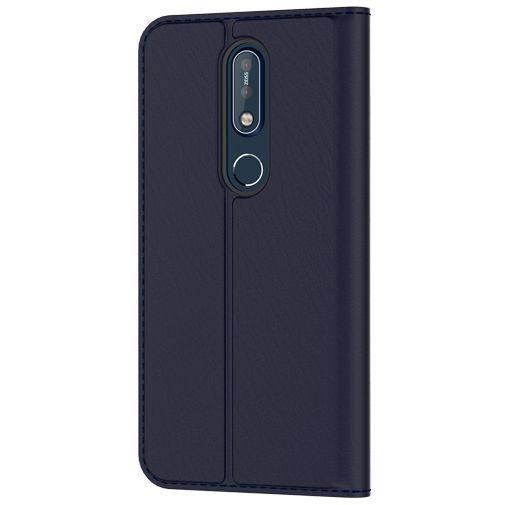 Productafbeelding van de Nokia Slim Flip Case Blue Nokia 7.1