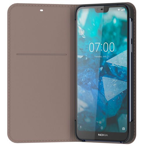 Produktimage des Nokia Slim Flip Case Grau Nokia 7.1