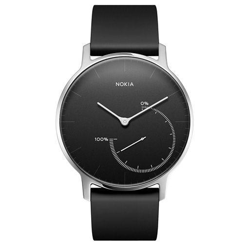 Productafbeelding van de Nokia Smartwatch Type Steel Black