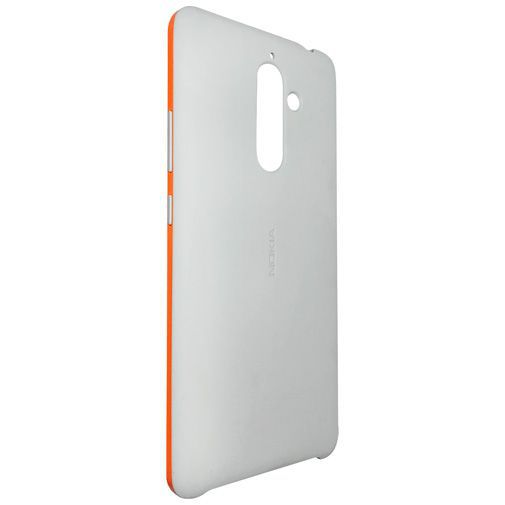 Productafbeelding van de Nokia Soft Touch Back Case Grey Nokia 7 Plus