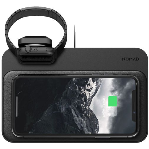 Produktimage des Nomad Base Station Kabelloses Ladegerät + Apple Watch Lader