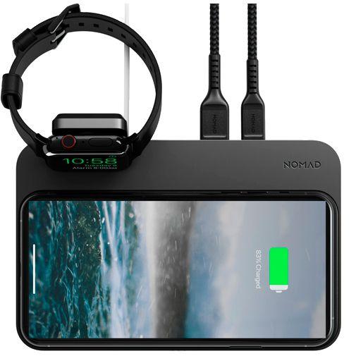 Produktimage des Nomad Base Station Kabelloses Ladegerät + Apple Watch Standaard