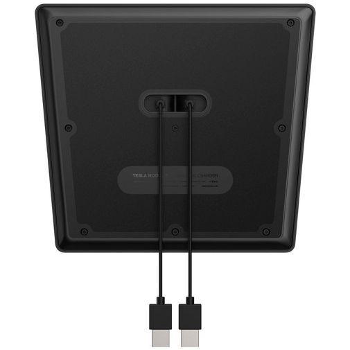Produktimage des Nomad Tesla Model 3 Dual Kabelloses Auto-Ladegerät 7,5W Schwarz