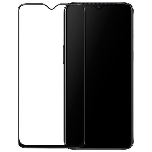 Productafbeelding van de OnePlus 3D Tempered Glass Screenprotector Black OnePlus 7