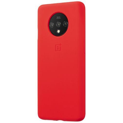 Productafbeelding van de OnePlus Silicone Bumper Case Red OnePlus 7T