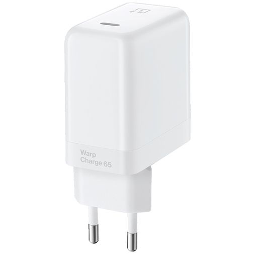 Productafbeelding van de OnePlus Warp Charge USB-C Snellader 65W Wit